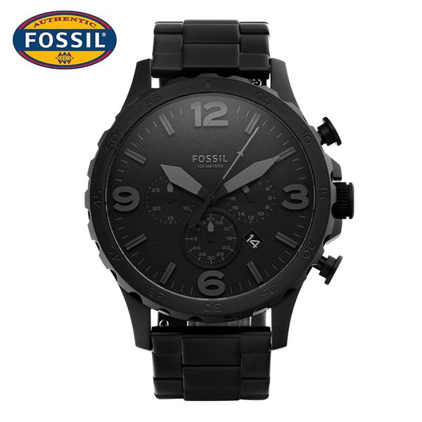 [파슬시계 FOSSIL] JR1401 / Mens Nate Black 50mm 타임메카