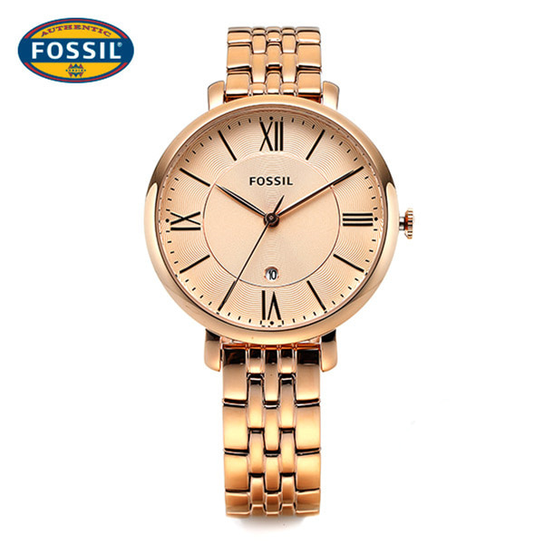 [파슬시계 FOSSIL] ES3435 / Womens Jacqueline Rose Gold Watch 36mm 타임메카