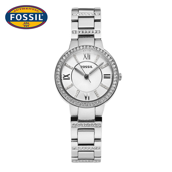 [파슬시계 FOSSIL] ES3282 / Womens Virginia Silver Watch 30mm 타임메카