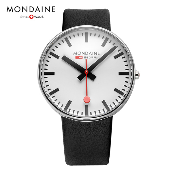 [몬데인시계 MONDAINE] MSX.4211B.LB / Giant BackLight 42mm (A660.30328.11SBB 신형) 타임메카