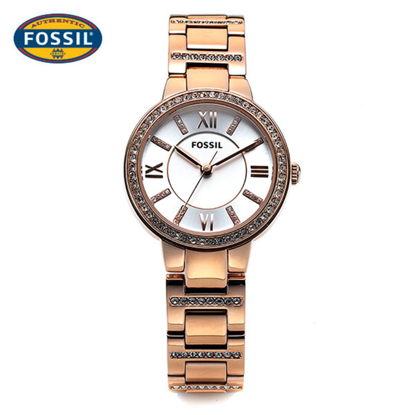 [파슬시계 FOSSIL] ES3284 / Womens Virginia Rose Gold Watch 30mm 타임메카